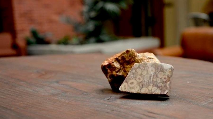 Polvo atmosférico de 300 millones de años, documentado en rocas de Irán