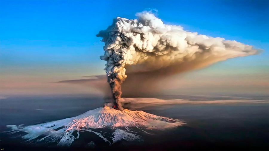 Erupciones del Etna, relacionadas con cambios del eje terrestre