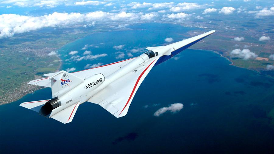 Luz verde al nuevo avión supersónico silencioso de la NASA