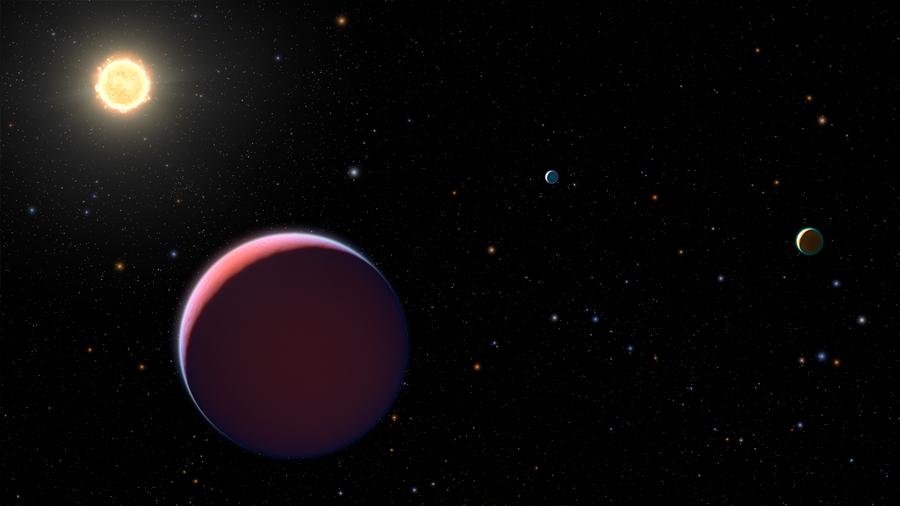 Descubren planetas que son como el algodón de azúcar