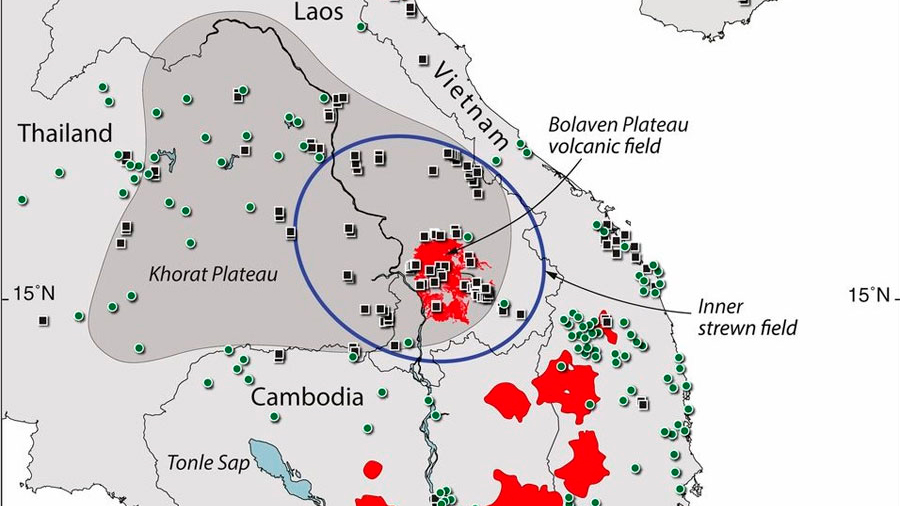 Localizado en Asia un gran cráter que causó el meteorito más grande en los último millón de años