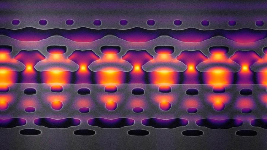 El acelerador de partículas se reduce a las dimensiones de un chip