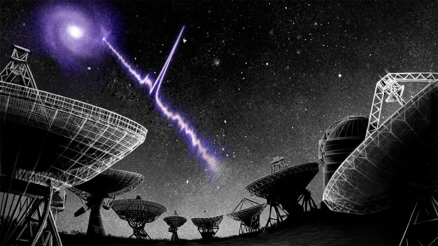 Localizado el estallido de radio más cercano a la Tierra