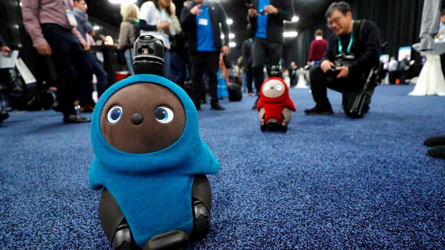 Presentan en feria de Las Vegas a los 'lovots', tecnología para combatir la soledad de los humanos