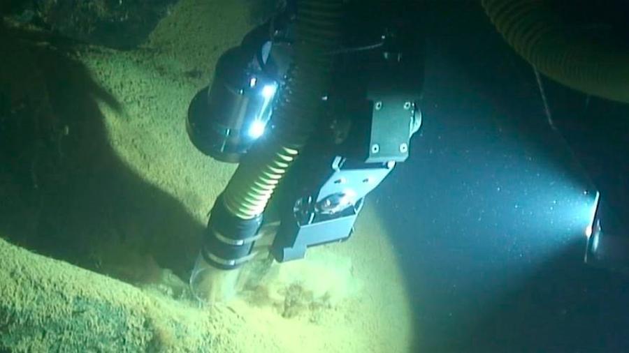 Logran primera toma de muestras de un robot autónomo en el fondo marino