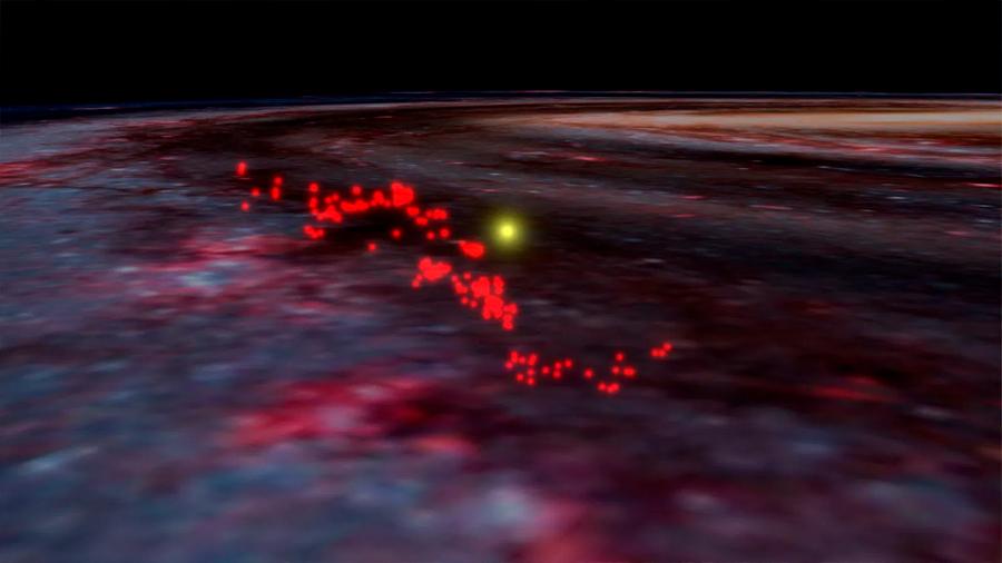 """Astrónomos descubren cerca del Sol el """"tsunami"""" más gigantesco de la Vía Láctea"""
