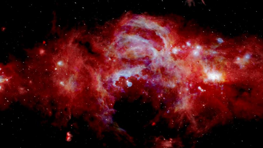 La NASA muestra una impresionante imagen del 'núcleo' de la Vía Láctea con detalles nunca antes vistos