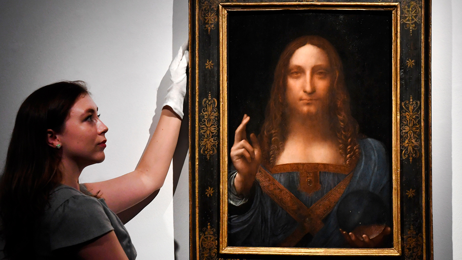 La informática resuelve un antiguo misterio de este cuadro de Da Vinci