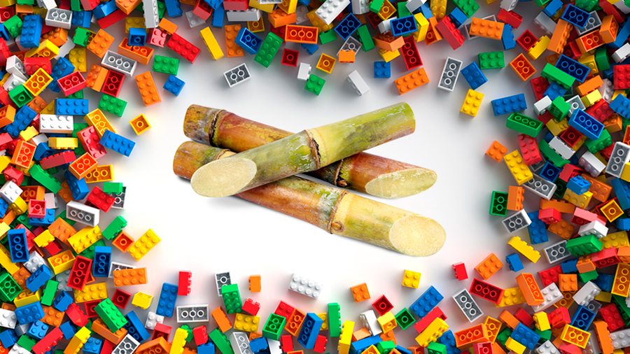 Lego te quita el plástico de las manos para que ahora armes bloques hechos con caña de azúcar