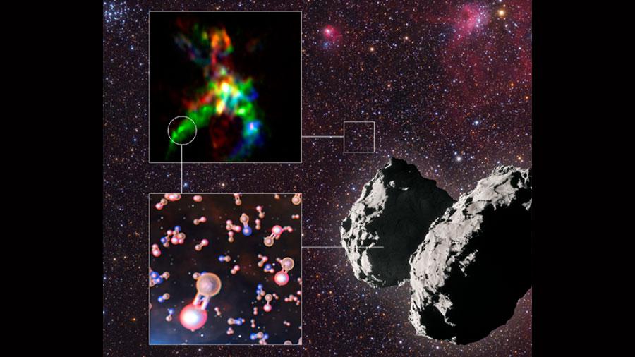 Descubren el hilo químico que posibilitó la vida en la Tierra