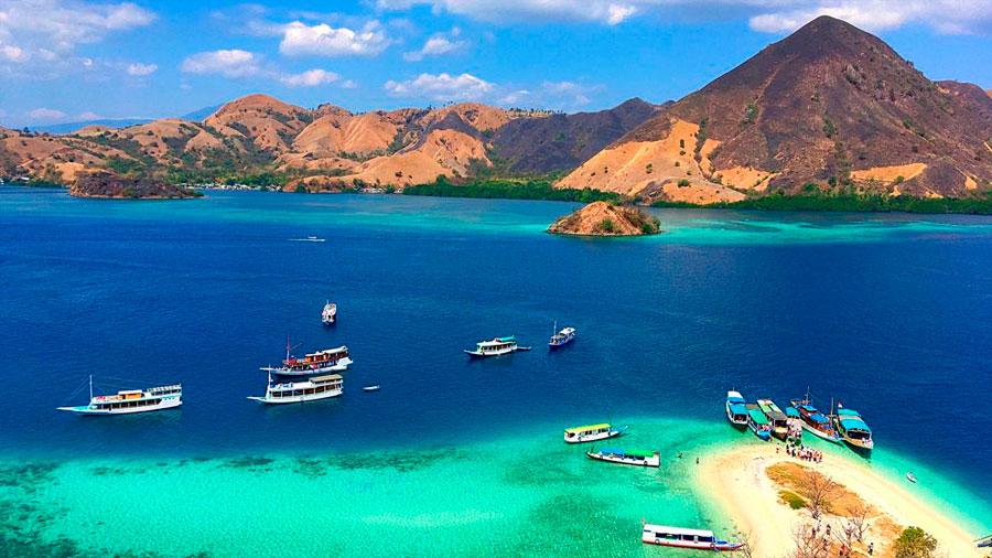 El aumento del nivel del mar por el cambio climático hace desaparecer dos pequeñas islas de Indonesia