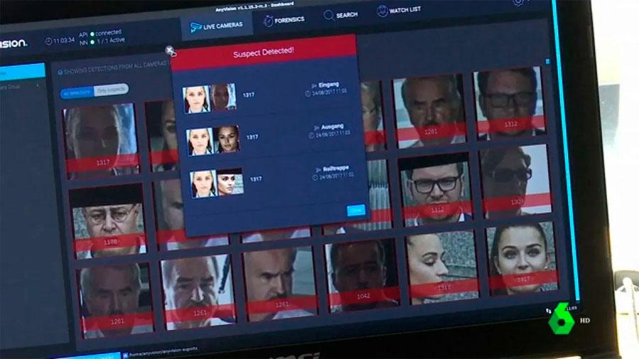 Una aplicación que usa fotos de redes sociales permite a la Policía identificar casi a cualquier persona