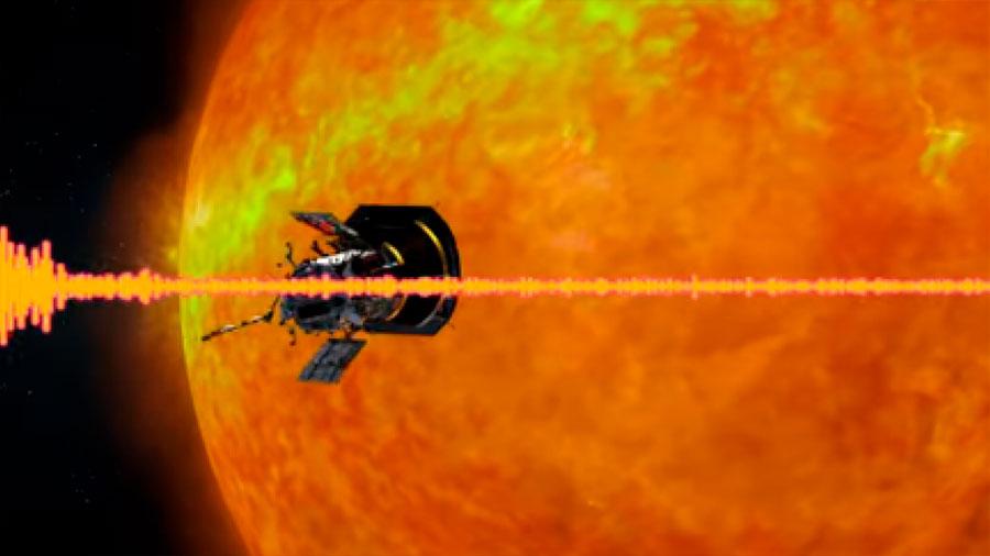 Así suena el viento solar para la misión Parker Solar Probe