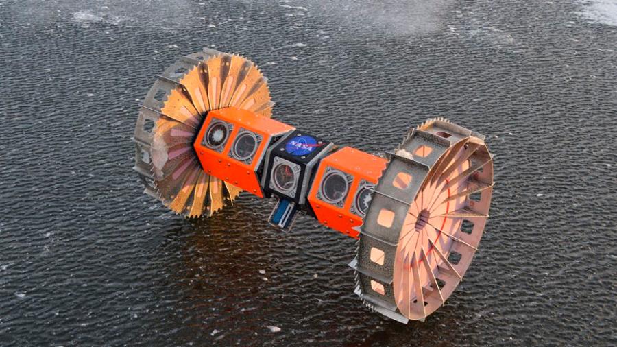NASA prepara robot submarino para explorar océanos espaciales