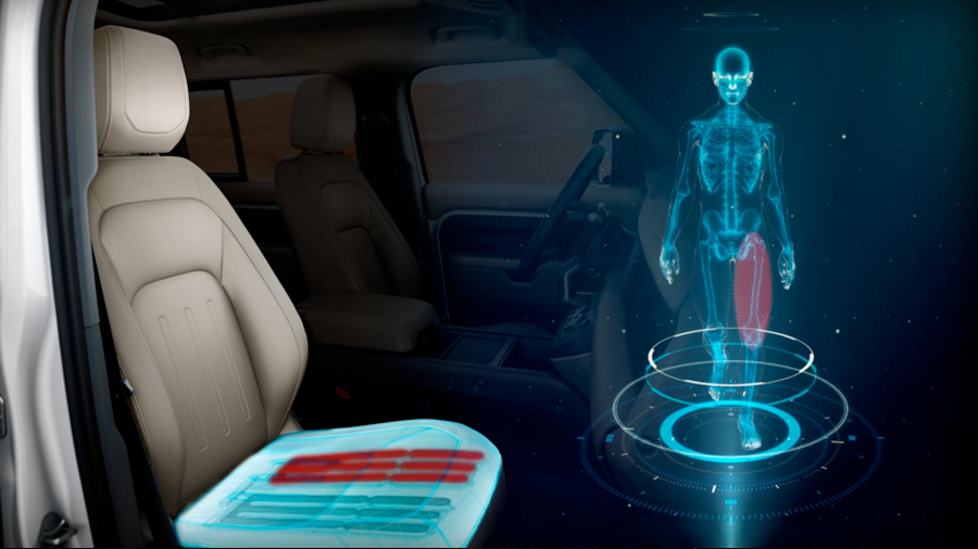 Dos automotrices desarrollan unos asientos que harán creer a tu cerebro que estás caminando
