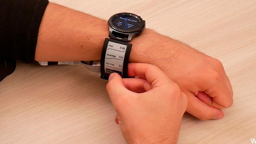 Pantallas en las correas: ¿la nueva tendencia en relojes inteligentes?