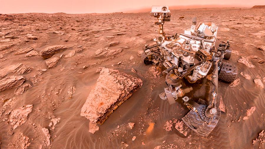Mexicano que labora en investigación de la NASA sobre Marte aborda posibilidad real de vida en el planeta rojo