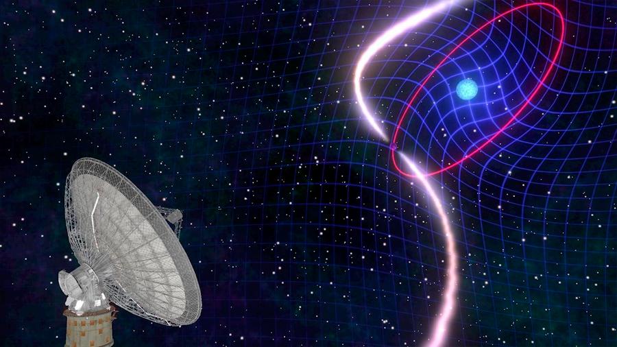 Astrofísicos atestiguan observación del arrastre del espacio-tiempo que teorizó Einstein