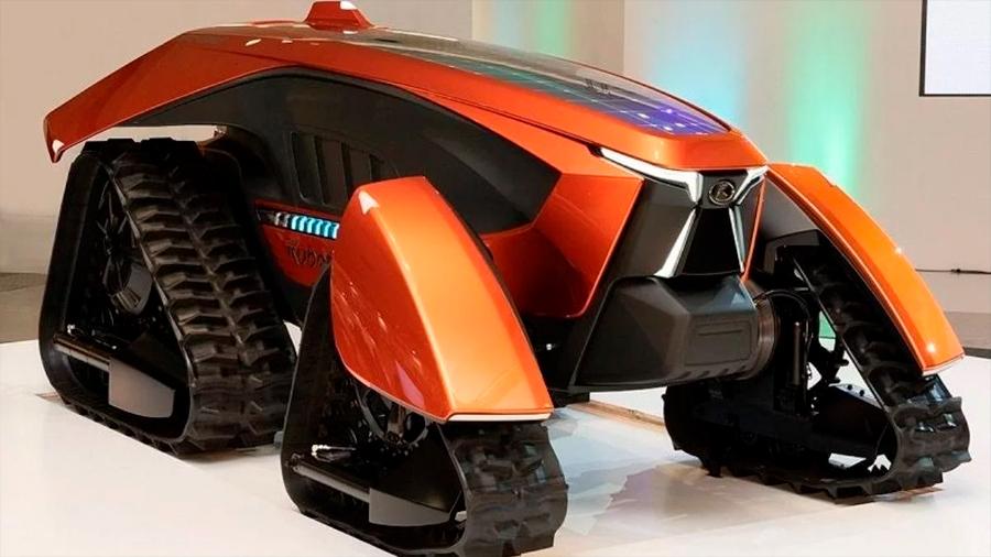 Presentan un tractor autónomo con inteligencia artificial y cero emisiones