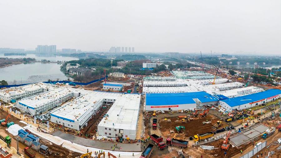 Este video muestra en un minuto cómo China construyó un hospital en 10 días