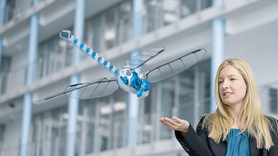El insecto robot más grande del mundo: tiene una envergadura de 63 centímetros