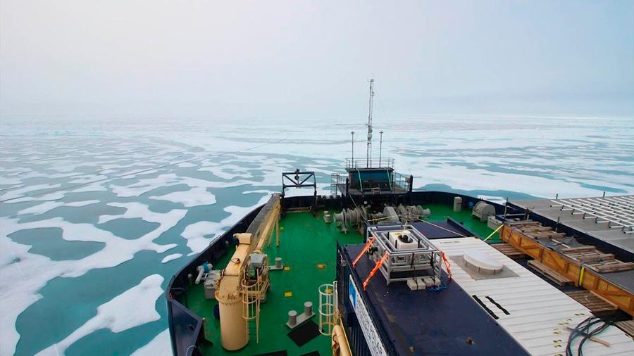 El metano liberado por el Ártico a la atmósfera no es catastrófico