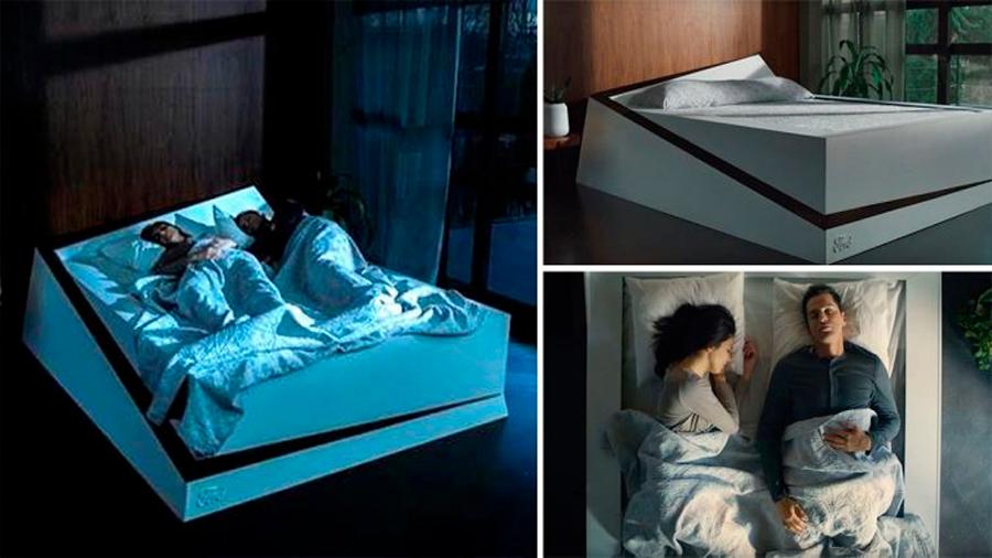 Lo que faltaba: una cama inteligente para evitar que tu pareja invada tu lugar