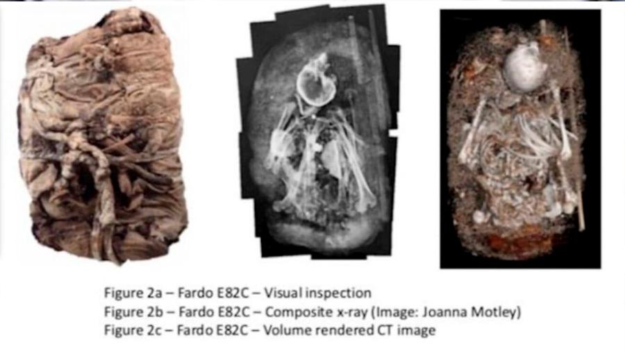 Antiguas momias peruanas al descubierto con lo último en rayos X