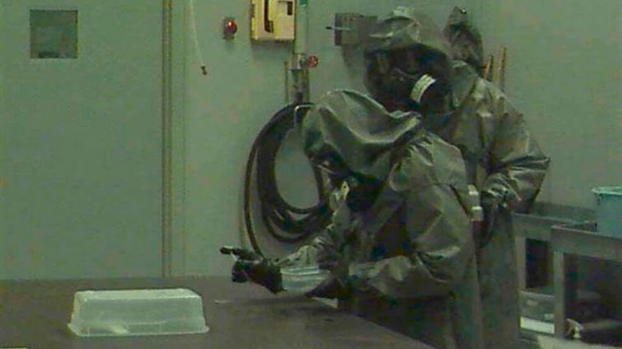 Un experimento intenta modificar el hígado de soldados para resistir ataques químicos