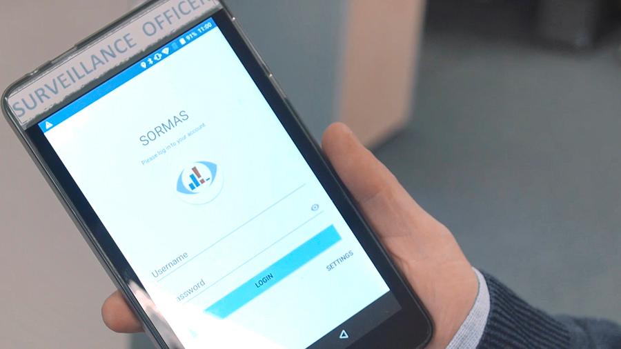 Una aplicación móvil permite el seguimiento en tiempo real de la evolución del coronavirus en el orbe