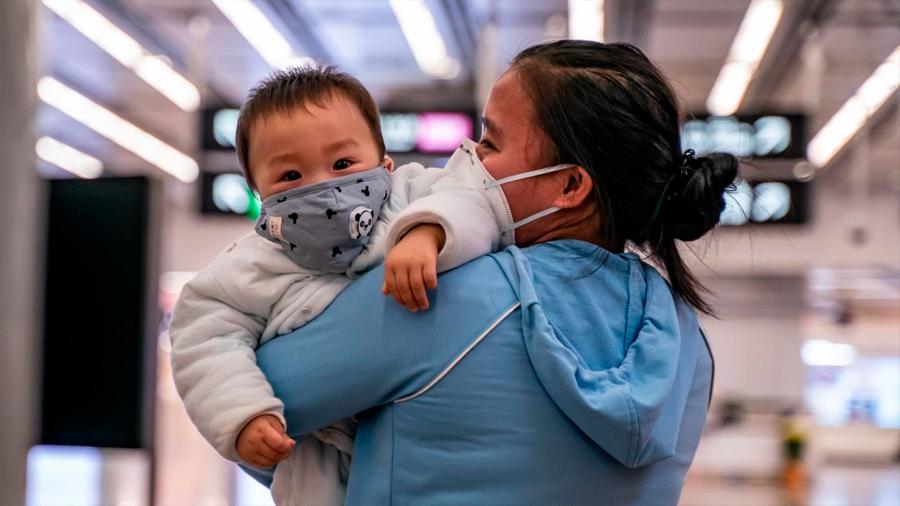 Coronavirus: confirman el contagio de un bebé recién nacido con el nuevo virus