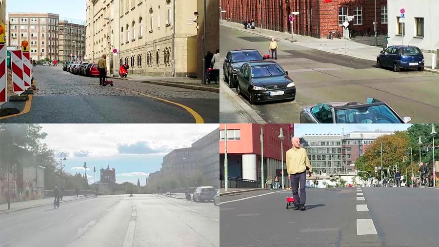 """Artista """"hackea"""" Google Maps y crea atascos con solo un carrito lleno de smartphones"""