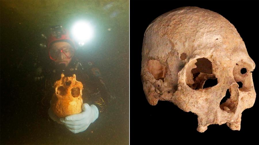 Un esqueleto de 9 mil 900 años difiere del resto de los primeros mexicanos
