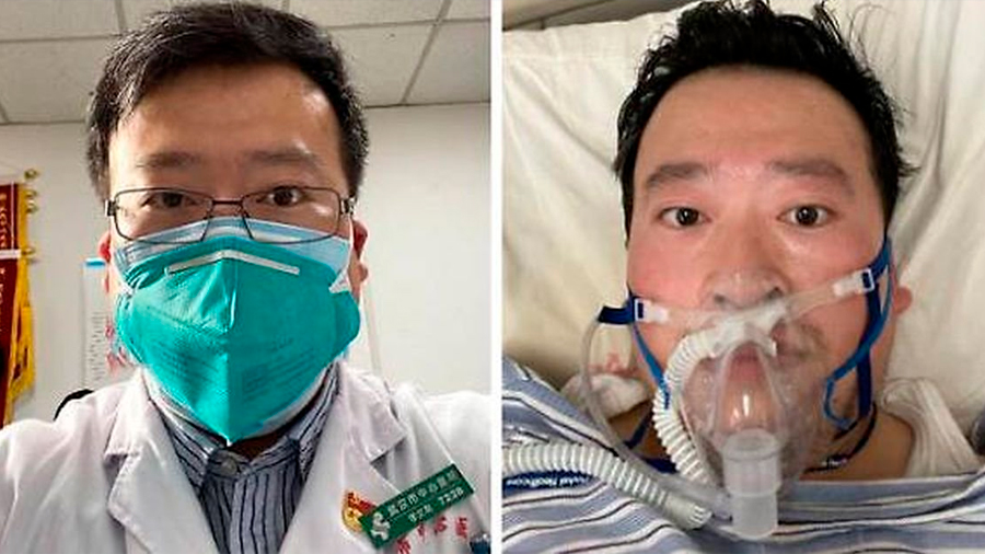 Muere el amenazado médico chino que alertó sobre el coronavirus y ahora es héroe nacional