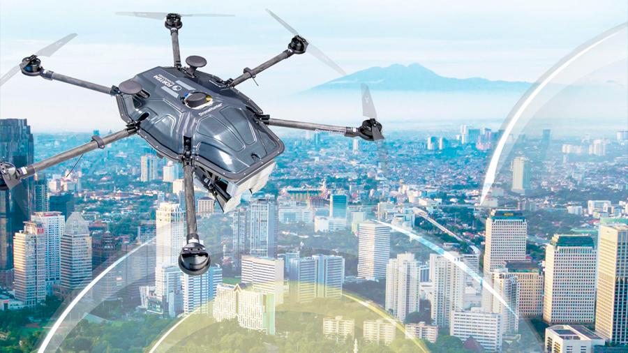 EEUU refuerza su programa antidrones con SkyDome, el cazador de drones no autorizados