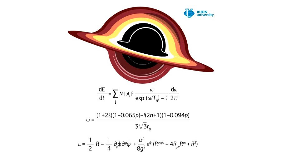 Obtienen fórmula que calcula la radiación de Hawking en el horizonte de sucesos de un agujero negro