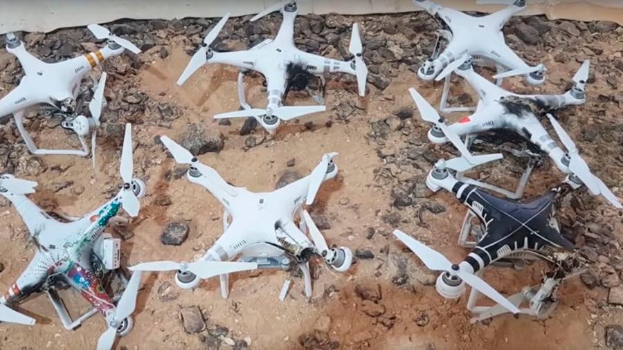 Así incinera Israel drones en pleno vuelo con rayos láser