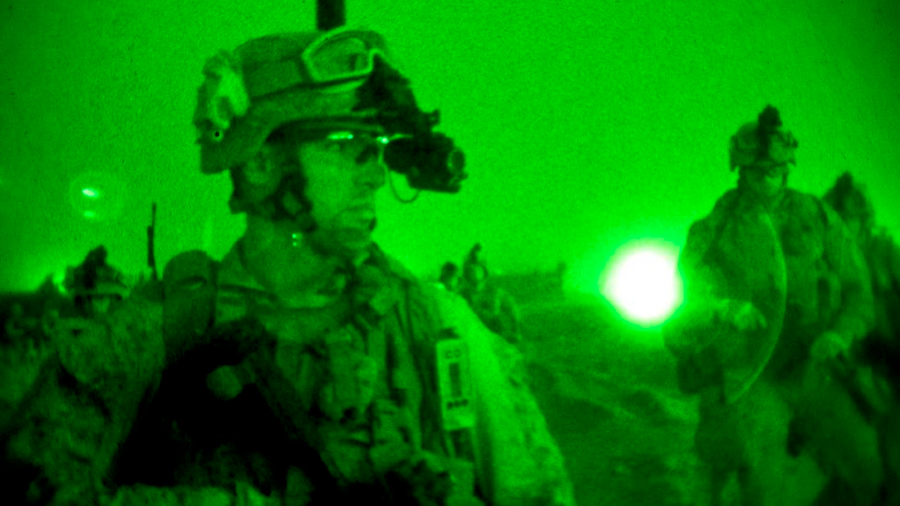 Nueva tecnología de reconocimiento facial en la oscuridad, a lo lejos