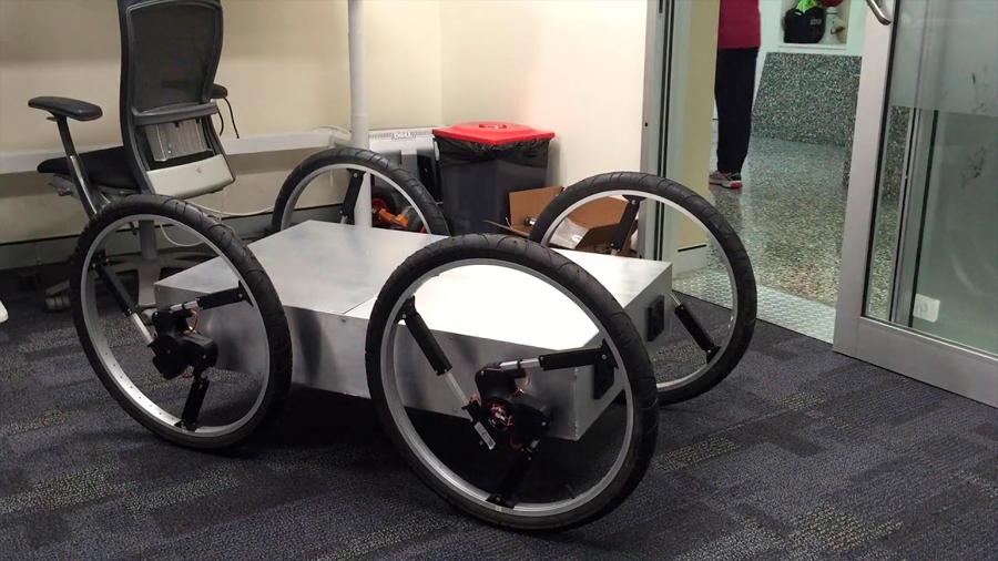 Innovadora rueda robótica permitirá que el chasis se adapte a ella … y no viceversa