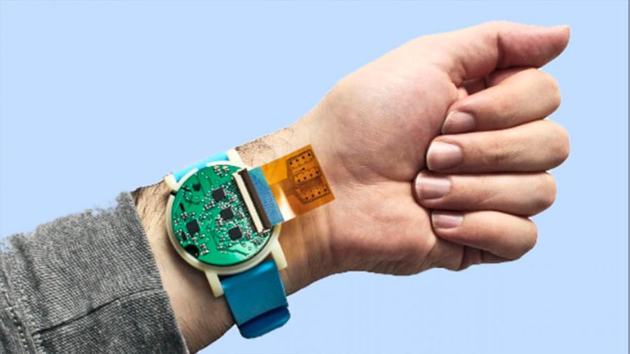 Este dispositivo en forma de reloj rastrea tu salud a través del sudor