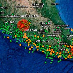 Científicos mexicanos investigan origen de enjambre sísmico en Michoacán