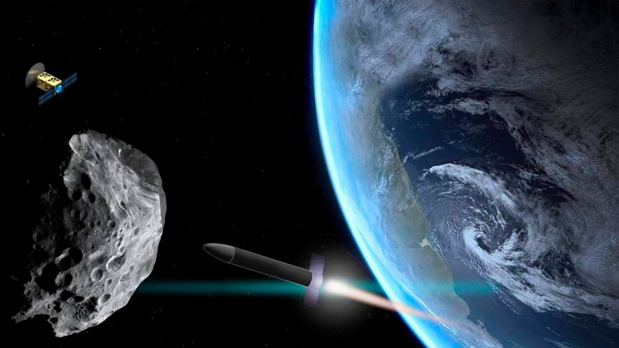 Cómo atacar asteroides que cambian de dirección hacia la Tierra