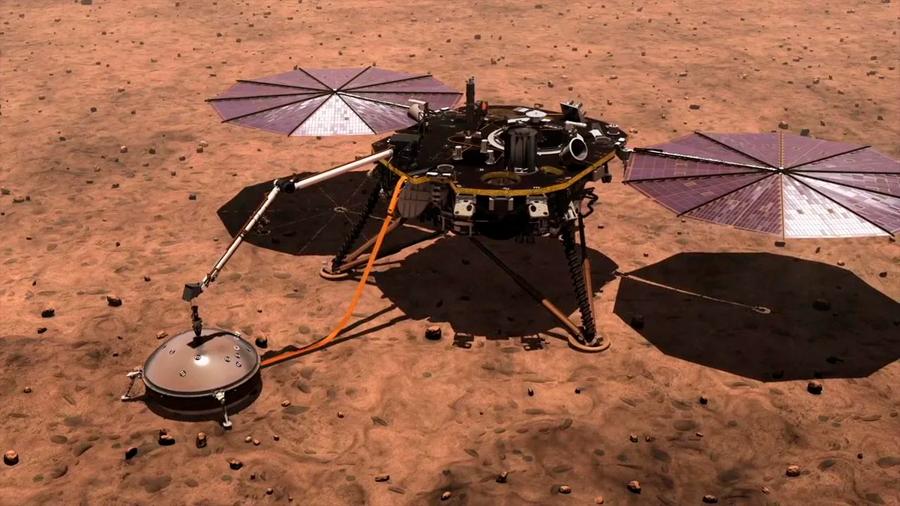 Primeros resultados de InSight: Marte tiene actividad sísmica y un denso campo magnético