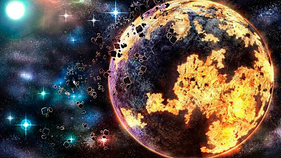 Nueva teoría de cómo se formó la Tierra: en minuto y medio acorde a la escala de tiempo astronómica