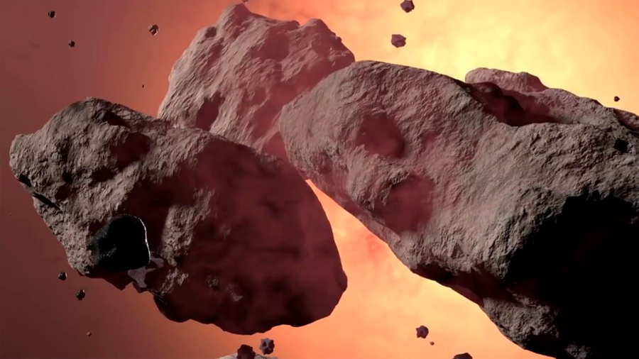 Medios nucleares para impedir el impacto cósmico de un asteroide contra la Tierra