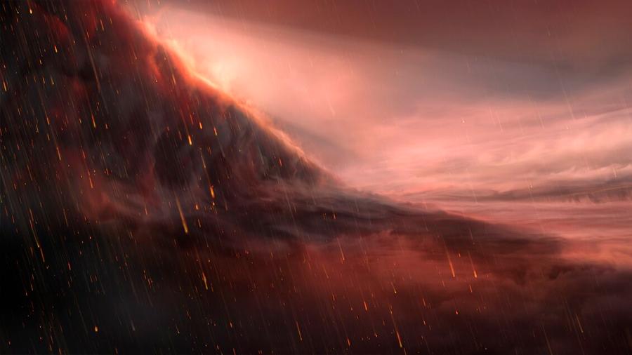 Descubren lluvia de hierro en un exoplaneta