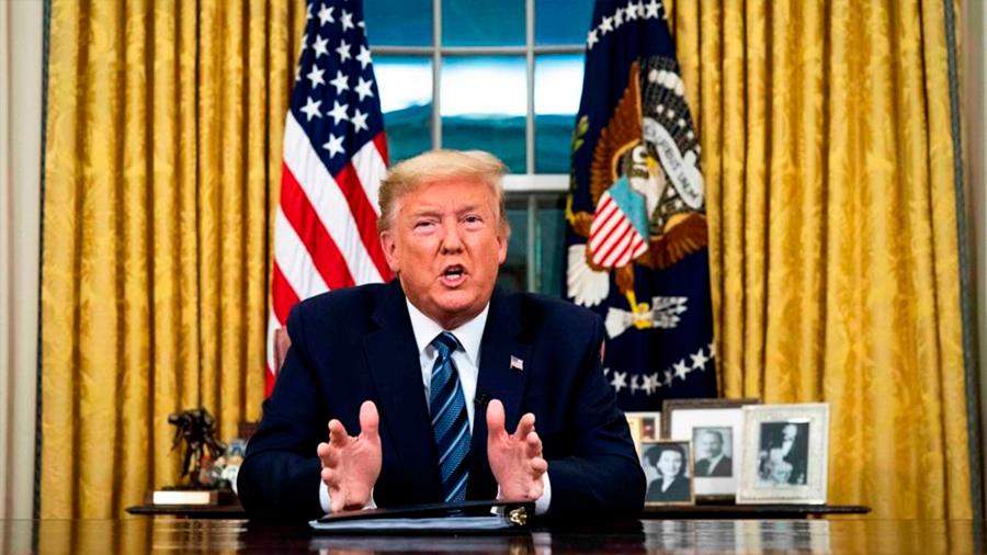 Trump veta los viajes de Europa a EU por 30 días para evitar la propagación del covid-19