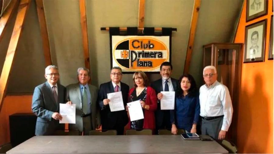 """Registran planilla """"Esfuerzo y progreso"""" para elección de nuevo consejo directivo 2020-2023 del club Primera Plana, A.C."""