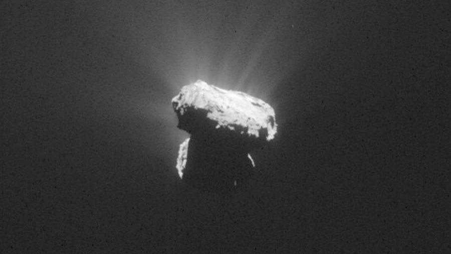 Resuelven un misterio del sistema solar gracias a una roca espacial 'salada'