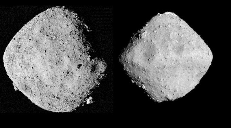 Asteroides como Ryugu se destruirían fácilmente en la atmósfera terrestre